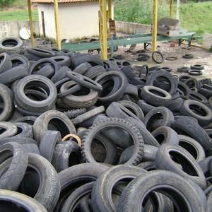 Empresa de trituração de pneus agrícolas