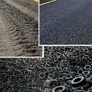 Reciclagem de pneus para asfalto