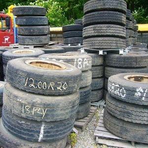 Compra de pneus caminhão usados